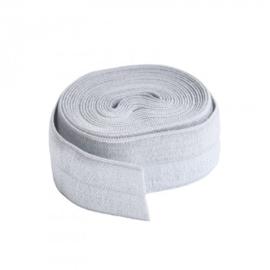 Fold over elastic - 2 yard - Pewter