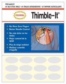 Thimble It - Zelf-plakkende ovale Pads (64 stuks)