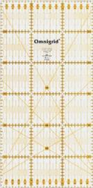Omnigrid Liniaal - 15 x 30 cm - Metrisch - 611.307