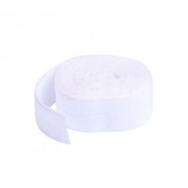 Fold over elastic - 2 yard - White