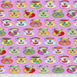 Tula Pink - Curiouser & Curiouser - Tea Time - PWTP163.WONDER