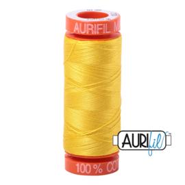 Aurifil Quiltgaren- MAKO 50 - 200 meter - Kleur: 2120 - Canary