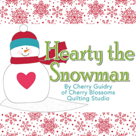 'Hearty The Snowman' by Cherry Guidry