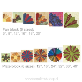 Trace 'n Create Quilt - Dresden Plate - Clover 9514