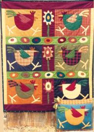 Meme's Quilts - 'Spring Chicken'