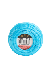 DMC Pearl Cotton on a Ball, Small - Size 8 - 10 gram, Color 3846