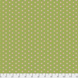 Tula Pink - TRUE COLORS - Hexy - PWTP150.JUNIPER
