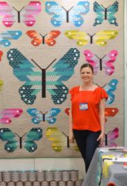 Patroon:  Lepidoptera by Elizabeth Hartman