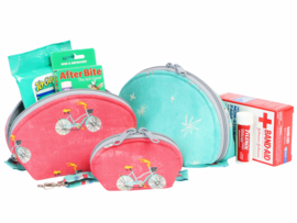 Patroon: 'Clam Up' -Zippered Pouches - by Annie - PBA275