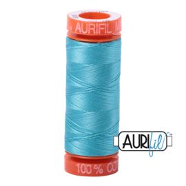 Aurifil Quiltgaren- MAKO 50 - 200 meter - Kleur: 5005 - Bright Turquoise