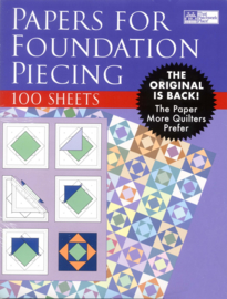 """Printable Foundation Piecing Paper - 8½"""" x 11"""""""