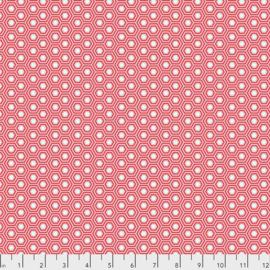 Tula Pink - TRUE COLORS - Hexy - PWTP150.FLAMINGO