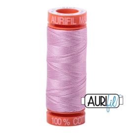 Aurifil Quiltgaren- MAKO 50 - 200 meter - Kleur: 2515 - Light Orchid
