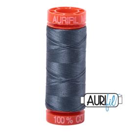 Aurifil Quiltgaren- MAKO 50 - 200 meter - Kleur: 1158 - Medium Grey