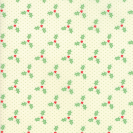Moda - 'Swell Christmas' by Urban Chiks - Christmas Holly Light Green - 31126-11