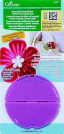 "Clover Quick Yo-Yo Maker 8487 - Kanzashi Flower Maker - Orchid Petal Large Size, 3"" - 75 mm"