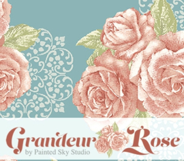 Benartex - Grandeur Rose