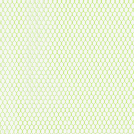Mesh Fabric - 18 x 54 inch - Apple Green