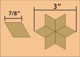 """7/8"""" Six Point Diamond (110 stuks)"""
