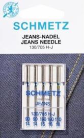 SCHMETZ - Naaimachine Jeans Naalden - 5 stuks - 130/705 HJ - ASSORTI N°90-100-110