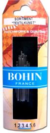 Bohin - Patchwork & Quilt Naalden - ASSORTI - 14 stuks
