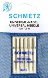 SCHMETZ - Naaimachine Naalden Universeel - 5 stuks  - 130/705 H - 80/12