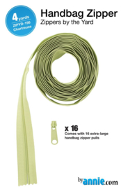 Zipper - 4 yards - Chartreuse