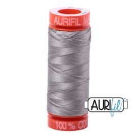 Aurifil Quiltgaren- MAKO 50 - 200 meter - Kleur: 2620 - Stainless Steel