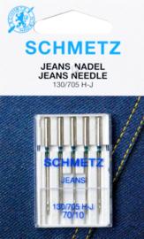 SCHMETZ - Naaimachine Jeans Naalden - 5 stuks - 130/705 HJ - 70/10