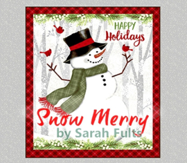 'Snow Merry' by Sarah Fults