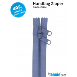 ZIP40-220 - COUNTRY BLUE - 40""