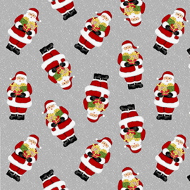 'Snow Merry' by Sarah Fults - Tossed Santa's - 5694-98