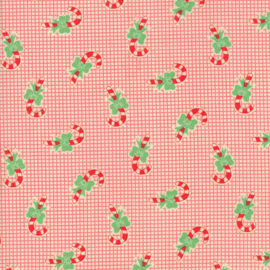 Moda - 'Swell Christmas' by Urban Chiks - Candy Cane Red - 31124-12