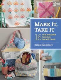Boek: 'Make It, Take It' by Krista Hennebury