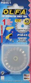 Rolmes OLFA - Reserve mes 45 mm - Kartel - PIB45-1