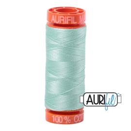 Aurifil Quiltgaren- MAKO 50 - 200 meter - Kleur: 2830 - Mint