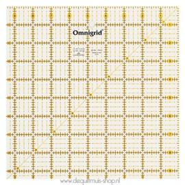 Prym Omnigrid Liniaal - 9,5 x 9,5 inch