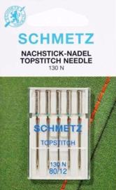 SCHMETZ - Naaimachine Naalden Topstitch - 5 stuks  - 130 N - 70/10