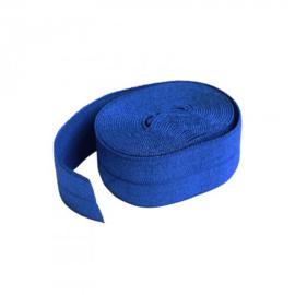 Fold over elastic - 2 yard - Blast Off Blue