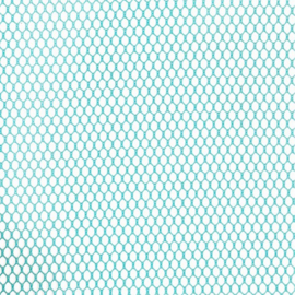 Mesh Fabric - 18 x 54 inch - Parrot Blue