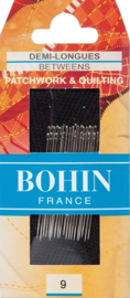 Bohin - Quiltnaalden - BETWEEN - Nr. 9 - 20 stuks