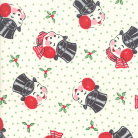 Moda - 'Sweet Christmas' by Urban Chiks - Marzipan - 31152-11