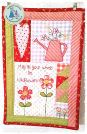 Patroon-Mini Quilt Wild flowers
