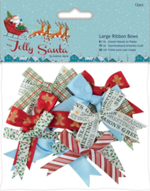 Knoopjes Docraft - Jolly Santa - Large Ribbon Bows