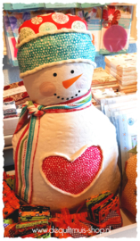 PANEL:  'Hearty The Snowman' by Cherry Guidry - 7570-99