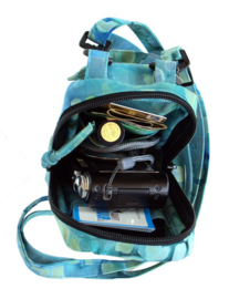 Patroon: 'Cell Phone/Camera Case& Wallet' - by Annie - PBA192