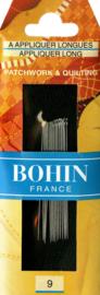 Bohin - Applicatie Naalden Nr. 9 - LANG - 15 stuks