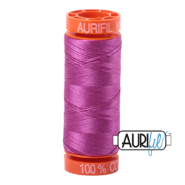 Aurifil Quiltgaren- MAKO 50 - 200 meter - Kleur: 2535 - Magenta