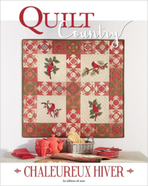 Tijdschrift:  Quilt Country Nr. 59 - Chaleureux Hiver