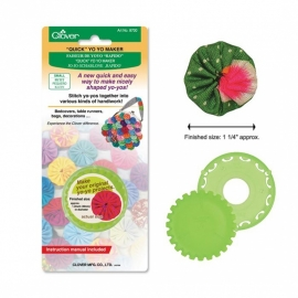 Clover Quick Yo-Yo Maker 8700 - Rond 30 mm
